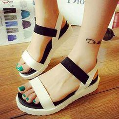 Mancienne - Wedge Sandals