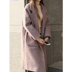 BBAEBBAE - Oversized Notch-Lapel Coat