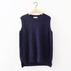 ninna nanna - Ribbed Knit Vest