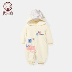 Yobaby - Kids Animal Hooded One-piece