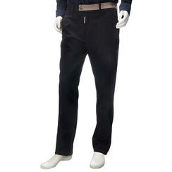 YesStyle M - Contrast Trim Straight-Leg Pants