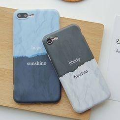 Casei Colour - 字母雙色手機套 - 蘋果 iPhone 6