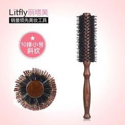 Litfly - Boar Bristle Round Hair Brush