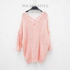 Polaris - Cable Knit Sweater