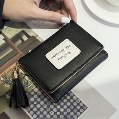enoi - Lettering Wallet with Tassel