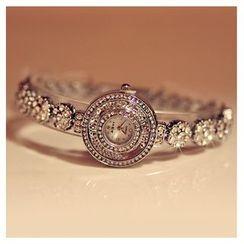 Nanazi Jewelry - Rhinestone Bracelet Watch