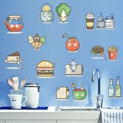 LESIGN - Cartoon Kitchen Wall Stickers