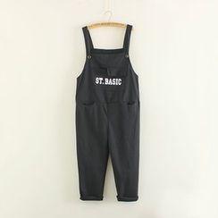 Mushi - Lettering Jumper Pants