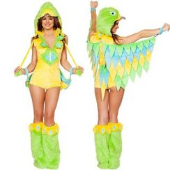 Cosgirl - Parrot Party Costume