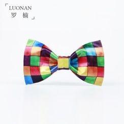 Luonan - Check Bow Tie