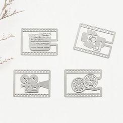 Class 302 - Cutout Metal Bookmark