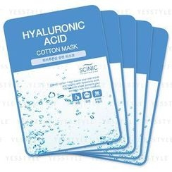 Scinic - Cotton Mask (Hyaluronic Acid)