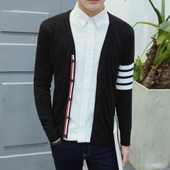 Riverland - Stripe V-neck Cardigan