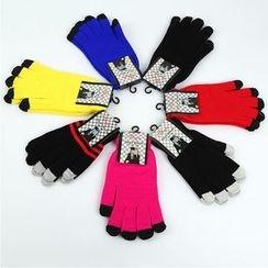 Damasco - Colour Block Touchscreen Gloves