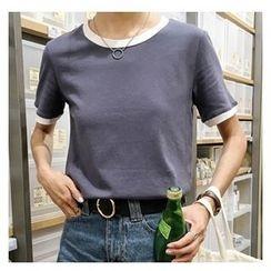MATO - Short-Sleeve Tipped T-Shirt