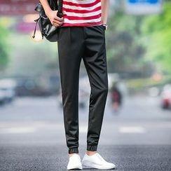 百高 - 弹性袖口棉质裤