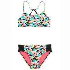 Charlotte - 印花分体泳衣