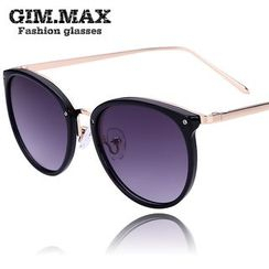 GIMMAX Glasses - Mirrored Round Sunglasses