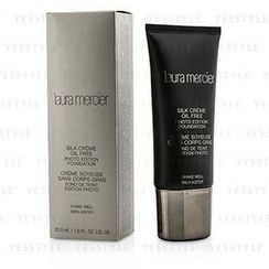 Laura Mercier 罗拉玛斯亚 - Silk Creme Oil Free Photo Edition Foundation - #Creamy Ivory