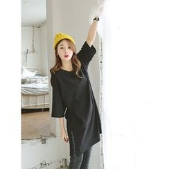 LOLOten - Elbow-Sleeve Long T-Shirt
