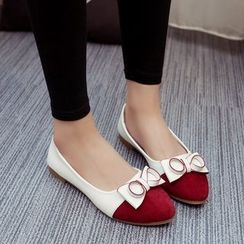 Sunsteps - Bow Accent Flats