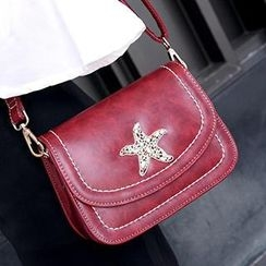 SUOAI - Star Panel Flap Cross Bag