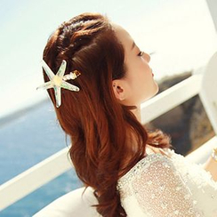Sunset Hours - Starfish Hair Clip