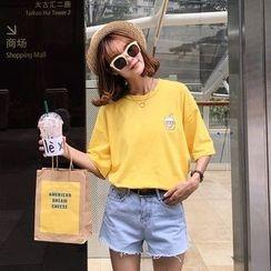 AiAi Bear - Short-Sleeve Print T-Shirt