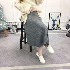 Knitemps - Knit Long Skirt