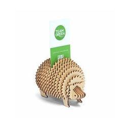 Team Green - Plywood Puzzle - Hedgehog (Card Holder)