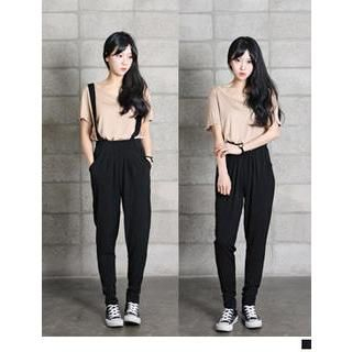 URBAN LADY - Suspender Pants