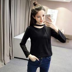 CHIH - Cutout Long-Sleeve T-Shirt