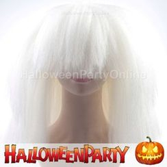 Party Wigs - HalloweenPartyOnline - SIA Large White