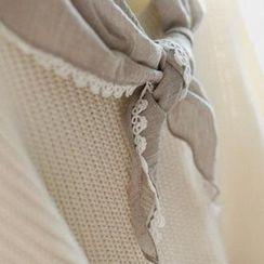 GOROKE - 蕾絲邊圍巾