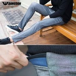 DANGOON - Band-Waist Tapered Dress Pants