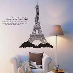 LESIGN - Eiffel Tower Wall Sticker