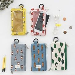 Full House - Live Work - Printed Mobile Pouch