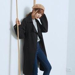 BAIMOMO - 條紋風衣