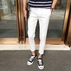 KANGI - Cropped Tapered Pants