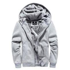 Alvicio - Long Sleeve Lined Zip Jacket