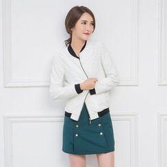 LROSEY - Zip Lace Jacket
