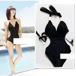 ISDA - Cut Out Detailed Swimsuit