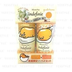 Sanrio - Indefinie Gudetama Shampoo and Conditioner Set