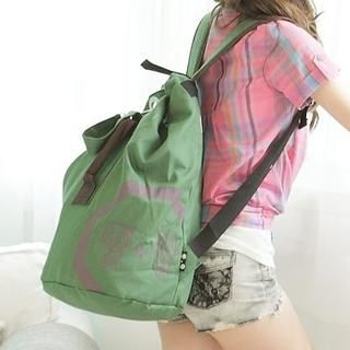 B.B. HOUSE - Printed Bucket Backpack
