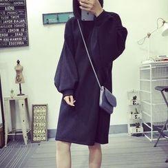 Dute - Balloon Sleeve Pullover Dress