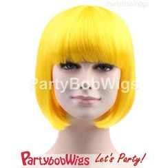 Party Wigs - PartyBobWigs - 派对BOB款短假发 - 黄色