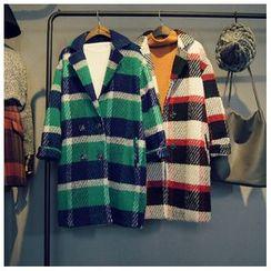芷蓯夕 - 雙排扣羊毛夾克