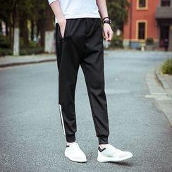 Bay Go Mall - Color Block Sweatpants