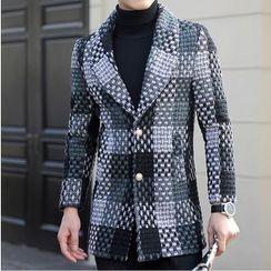 Bay Go Mall - Plaid Coat