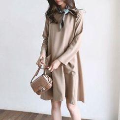 Hello sweety - Dual-Pocket A-Line Dress